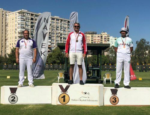 Veteranlar Türkiye Şampiyonasından Gümüş Madalya